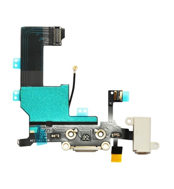 charging flex cable white iphone 5