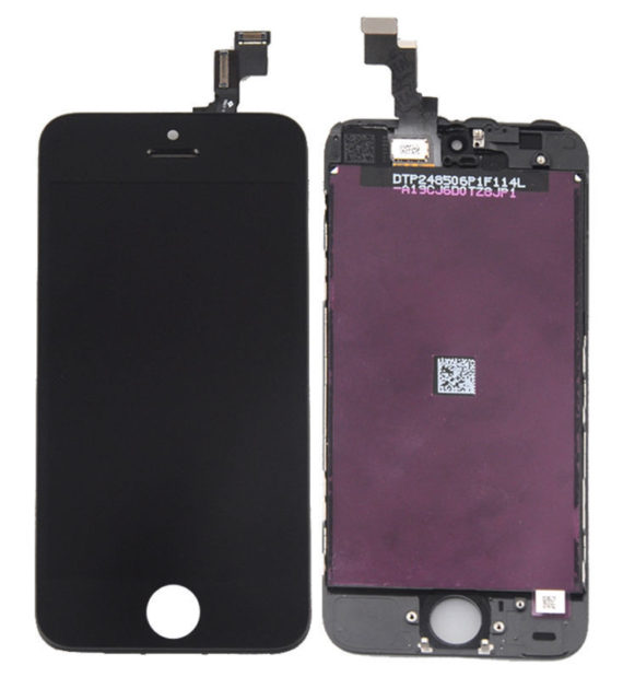 LCD Assembly A/M - iPhone 5S LCD Screen (A/M Quality)  - Black