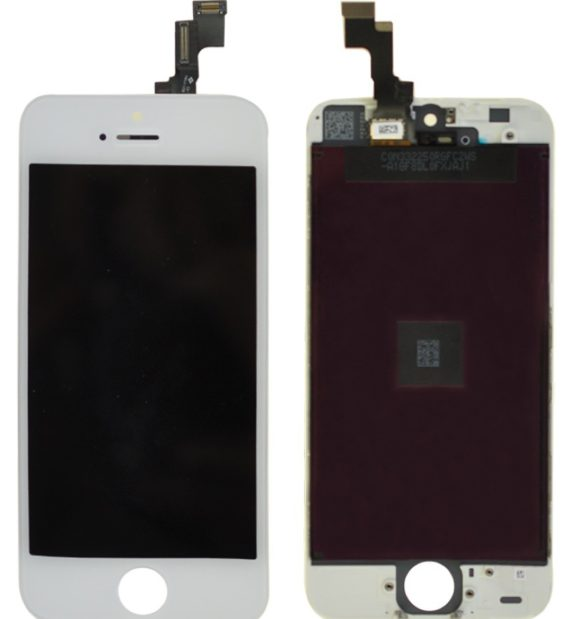 LCD Assembly A/M - iPhone 5S LCD Screen (A/M Quality)  - White