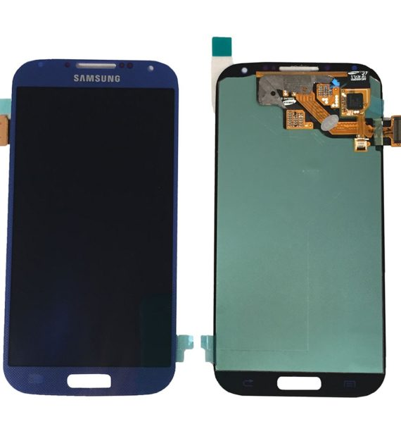 Samsung S4 LCD - Blue