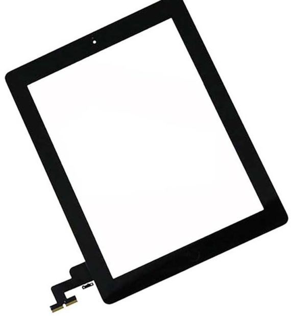 iPad 2nd Generation Digitizer with Home Button  - Black