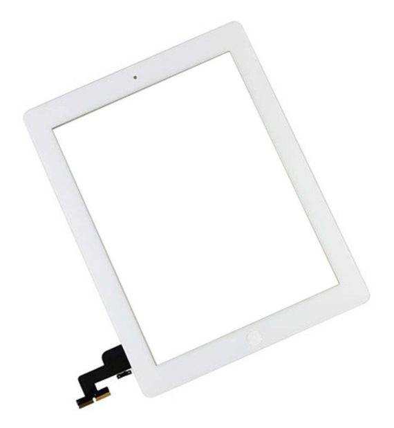 iPad 2nd Generation Digitizer with Home Button  - White