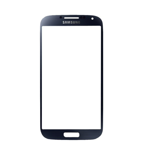 Samsung S4 Front Glass - Blue